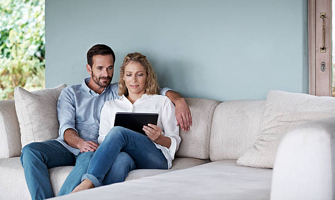 transfer money without leaving home